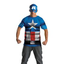 Men's Captain America Alternative No Scars Costume - $24.95