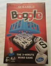 Boggle 3 Minute Word Game Hasbro Makers Of Scrabble New - $23.75
