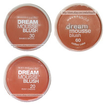 MAYBELLINE NEW YORK* (1) Tub DREAM MOUSSE Face Makeup BLUSH New! *YOU CH... - $19.99