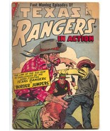 Texas Rangers In Action #8 1957- DITKO- Border Jumpers incomplete - $35.31