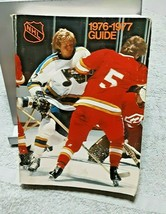 1976 1977 NHL National Hockey League Guide Book 668 pages - $12.86