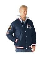 G-III New England Patriots NFL Super Bowl Champions Glory Jacket Hoody LARGE - $110.86