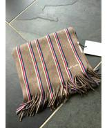 Paul Smith PS Stripe Scarf 100% Wool - $132.28