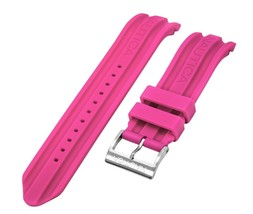Nautica Unisex N17507G | A17507G BFD 100 Date 22mm Pink Original Watch Band - $29.69