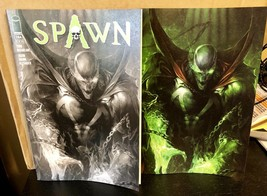 Spawn #284 Francesco Mattina B&W & Virgin B And C 2 Cover Set Image - $9.49