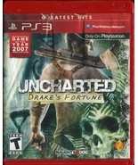 Uncharted Drake's Fortune Greatest Hits (PS3, Sony PlayStation 3) Complete - $2.96