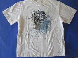 Boys Urban Up Blue Splatter T-Shirt #1 Size S - $6.79
