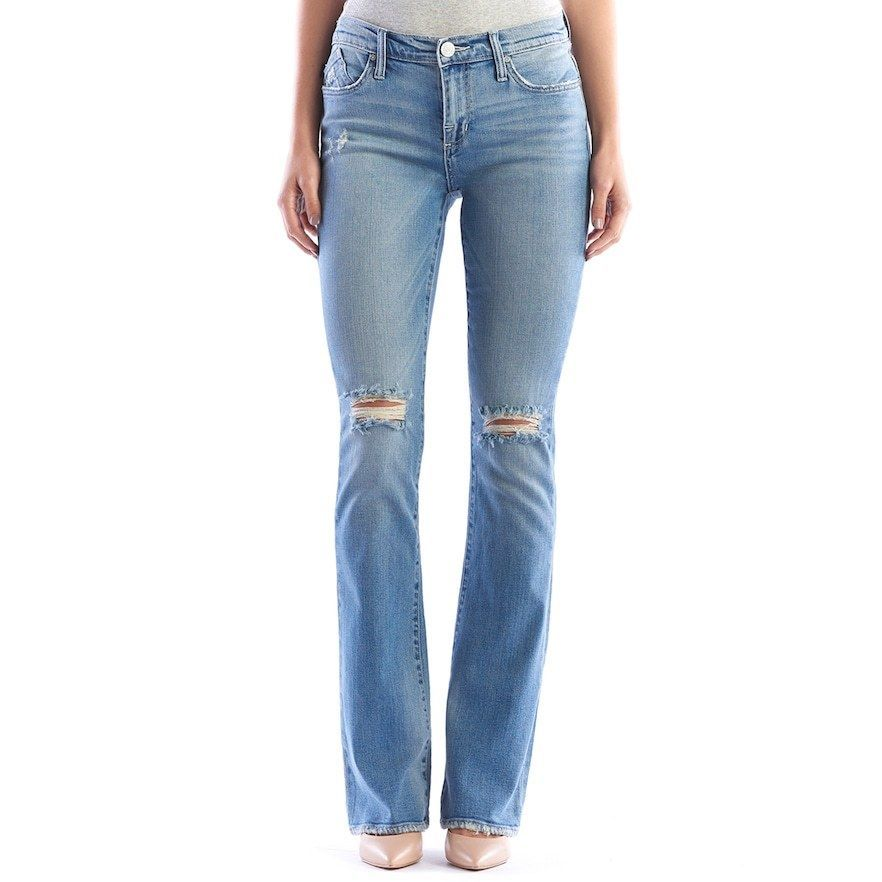 Primary image for ROCK & REPUBLIC WOMEN'S  KASANDRA RIPPED BOOTCUT JEANS NWT