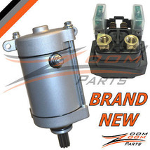 2001 - 2008 Yamaha Grizzly 660 YFM660 Starter Relay and Starter Motor AT... - $56.33