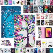 Leather wallet FLIP MAGNETIC BACK cover Case for Samsung Tab SM-T350 T38... - $103.10