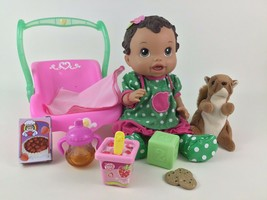 Baby Alive Doll Baby All Gone Strawberries Hasbro Interactive 2011 Lot - $48.96