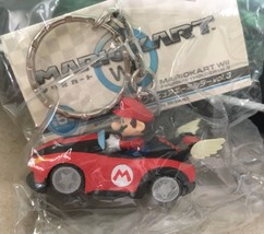 Super Mario Kart Key Chains Japan Import Toy Figures Mario Winged Kart B... - $15.00