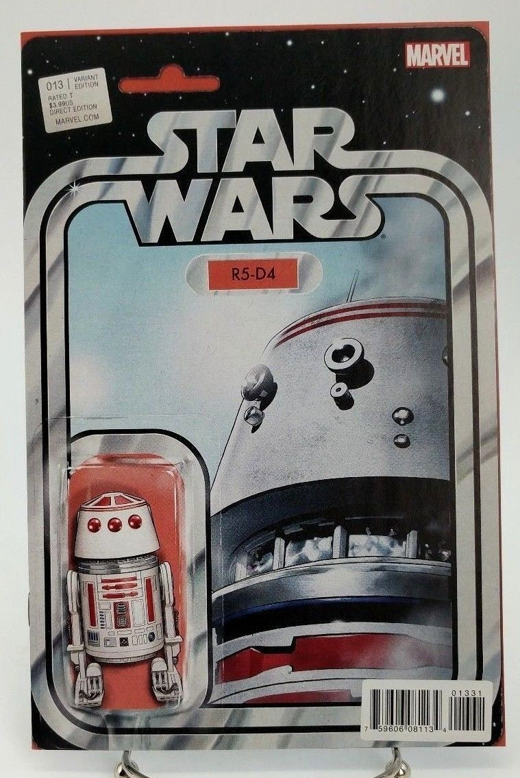 Star Wars #13 R5-D4 Action Figure Variant Cover Marvel Comics Volume 3 2015