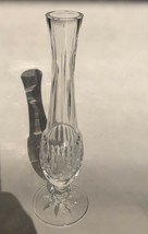 """Vintage Signed Waterford Criss 9 1/4"""" Flower Bud Vase Perfect Rare Free Shipping - $59.35"""
