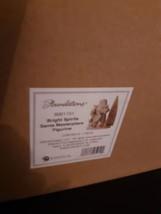 Foundations 6001151 Bright Spirits Santa Masterpiece Figurine Enesco Chr... - $79.15