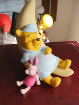 Extremely Rare! Walt Disney Winnie The Pooh with Piglet Sleeping on Moon... - $247.50