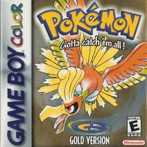 Pokemon Gold NINTENDO GameBoy Video Game - $15.75