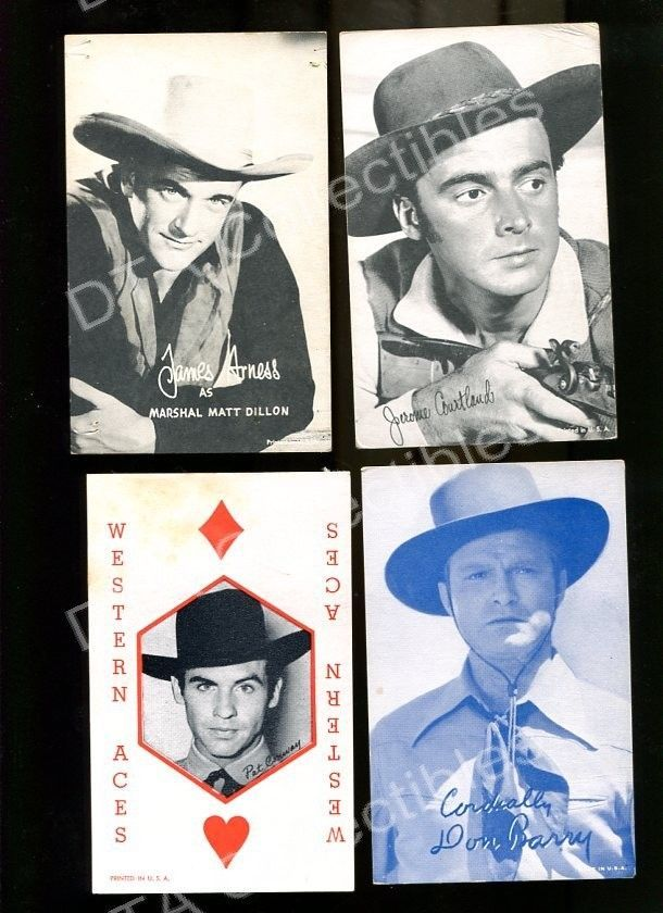 Primary image for JAMES ARNESS/JEROME COURTLAND/DON BARRY-ARCADE CARD FR/G