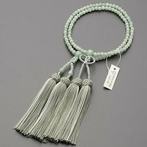 Nichiren Buddhist Rosary Mala Juzu 108 Prayer beads Myanmar Jade woman J... - $680.69