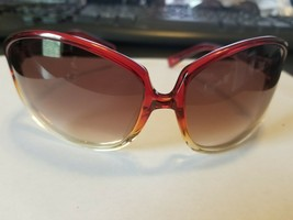 OLIVER PEOPLES Clorette Sunglasses RGR  RED/BROWN Gradient 69mm JAPAN..NEW - $73.26