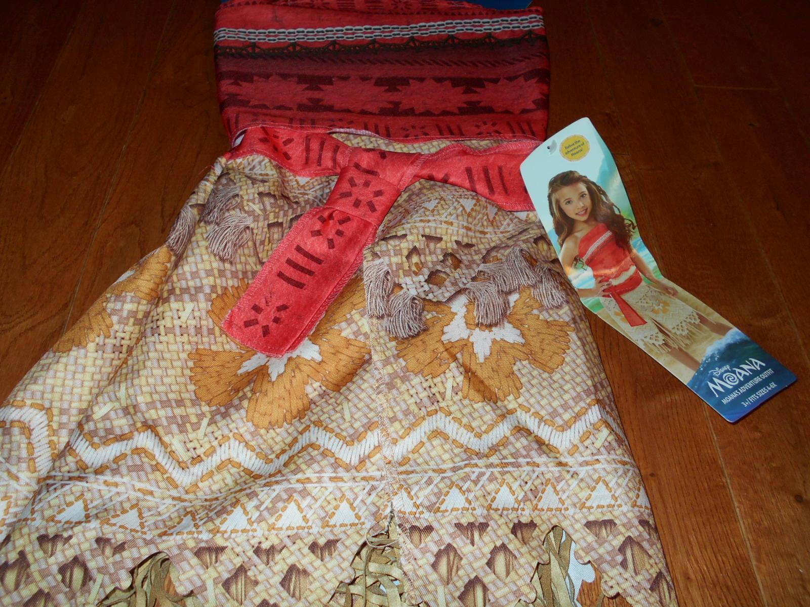f76f6b8dc NEW Disney Moana Girls Adventure Dress Up and 50 similar items. S l1600
