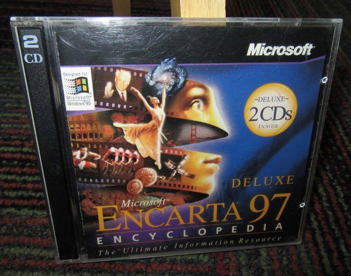 Microsoft encarta 97 deluxe encyclopedia and 50 similar items s l1600 m4hsunfo
