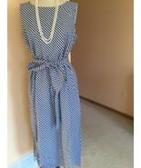 Women's Dress,L,Blue,Geometric ,Lafayette148,NWOT - $89.10