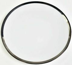 Haviland Limoges Platino Borde Buffet Placa, 32.4cmD - $123.86