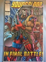 Youngblood #4 Rob Liefeld Art / 2nd Appearance of Pitt (Image, 1993) VF/NM - $3.22