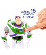 Mattel- Disney Toy Story 4-Figura with Voices And Sounds Buzz Lightyear ... - $234.32