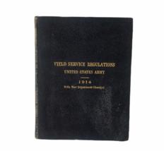 1914 Field Regulations United States Army 1914 World War I WWI Book Mili... - $18.66