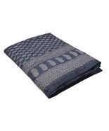 Home Furnishing Bedding Quilt Bedspread Indigo Buti Jaipuri Block Print - $34.00