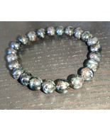 Astrophyllite gemstone stretchy bracelet #035 - $40.00