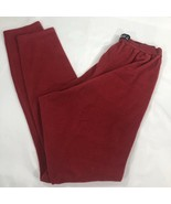 VTG Patagonia Capilene Fleece Pants Thermal Base Layer Stretch Large Red... - $34.99