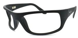 Maui Jim Peahi MJ-202-2M Men's Sunglasses Matte Black FRAME ONLY - $46.23
