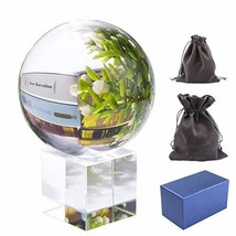 Pedobo Clear Crystal Ball 3.15 inch 80mm K9 Crystal Suncatchers Ball wit... - $16.04
