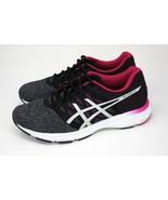 ASICS Gel-Exalt 4 Women's Sz 8.5 Grey/Black/Pink Running Shoes Sneakers - $49.95