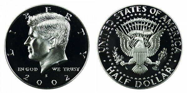 2004 S Proof Kennedy Half Dollar CP2043