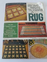American Thread Co. So You Want To Make A Rug - $8.90