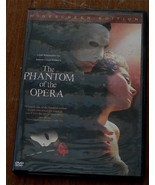 Gently Used DVD, The Phantom Of The Opera, Gerard Butler, Emmy Rossum, V... - $8.90