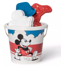 NEW Junkfood Mickey Minnie Mouse Vintage Classic Sand Shovel Molds Bucket 32515