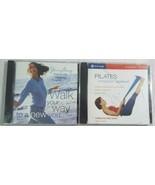 Lot of 2 Preownedin in original packaging Workout Health CDs Pilates Jen... - $9.90