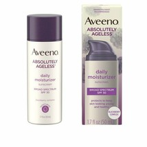 Aveeno Absolutely Ageless Daily Moisturizer SPF 30 Blackberry1.7 oz Exp ... - $13.71