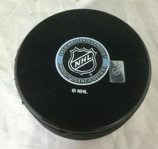 SERGEI BOBROVSKY / AUTOGRAPHED FLORIDA PANTHERS LOGO NHL HOCKEY PUCK / COA image 3