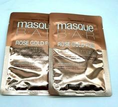 Lot of 2- Masque Bar Rose Gold Peel Off Mask Moisturize Revitalize, 0.41... - $9.99