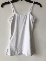 New Assets Red Hot Label By Spanx Top Form Tank White SZ S $42 - $29.09