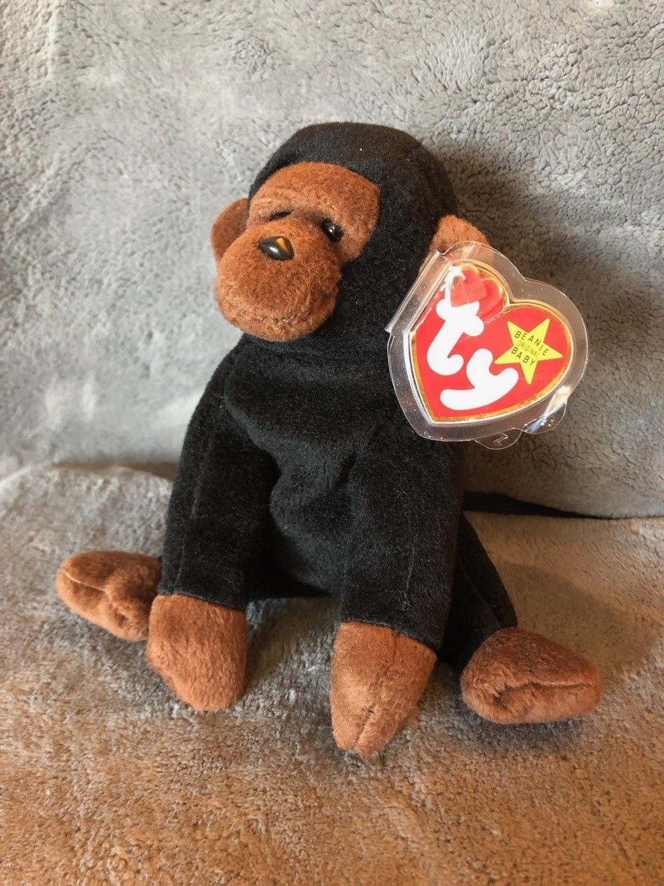 f181b78adec Rare Ty Beanie Baby Congo Gorilla With and 15 similar items. 57