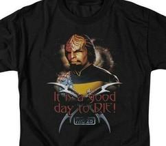 Star Trek Worf t-shirt Good day to Die Next Generation graphic tee CBS1086 image 2