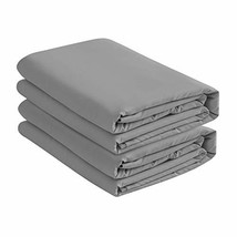 BASIC CHOICE 2-Pack Deep Pocket Bed Fitted Sheet/Bottom Sheet - California King,