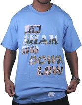 In4mation Hawaii Roshambo Down Low Rock Paper Scissors T-Shirt USA Made Blue NWT